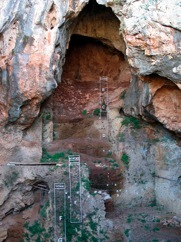 Cave at the Caves of Nachal Me'arot