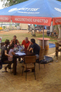 Kibbutz restaurant