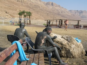 Image of Dead Sea mud bath