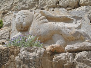 Image of Nimrod Fortress sculpture