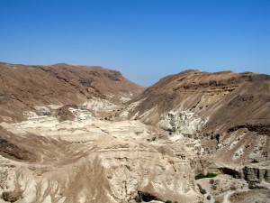 Image of Dead Sea mountains