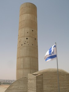 Image of Negev battle memorial